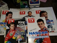 1997 collectable signed nascar TV guide set Concord, 03301