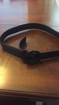black and brown leather belt Cypress, 77429