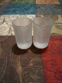 two white Jager shot glasses Palmdale, 93551