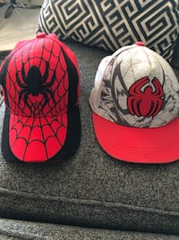 Spider-Man Hats.  $10 for Both  542 km