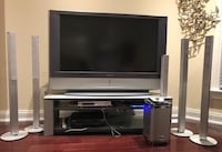 Sony Project 55 Inch TV, Sony Studio and Panasonic VCR Toronto, M2L 2H2