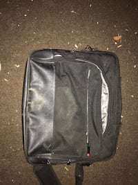 black and gray laptop bag Burlington, L7S