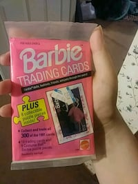 91' barbie trading card