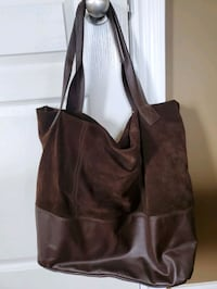 Pelle brand (italian)suede and leather purse  London, N6E