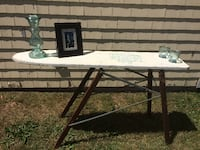 Unique Antique Ironing Board becomes a useful table Waterdown
