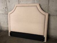 Queen headboard fabric cream  Charlotte, 28202