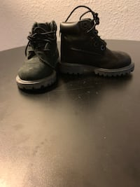 Black tims size 6 toddler Los Angeles, 91405