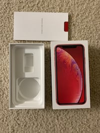 IPhone XR Box Product Red color Herndon, 20170