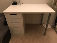 IKEA ALEX drawer w/ table top and chair