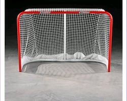 Hockey net - steel tube $100