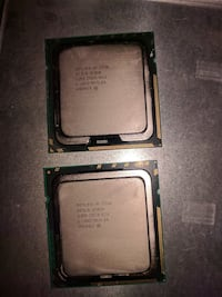 Matched Intel E5506 Xeon CPUs Columbia