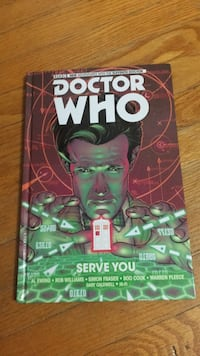 Doctor Who Eleventh Doctor Comic: Serve You Toronto, M8X 1Y8
