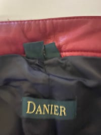 Danier leather pant size 8