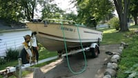 Boat, motor and trailer Syracuse, 46567