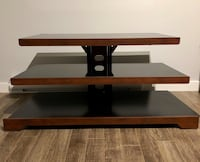 Black and brown tv stand Terrebonne, J6Y
