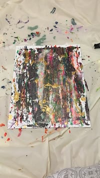 Abstract new art painting