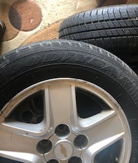 Used Chevi Malibu tires - Goodyear. 205/65/R15 Cambridge, N3C