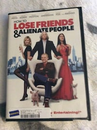 How To Lose Friends & Alienate People DVD case Smyrna, 30080