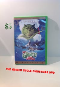 The grinch stole christmas dvd movie