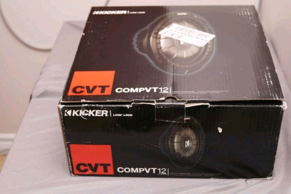 KICKER COMPVT 12 INCH SHALLOW MOUNT SUBWOOFER
