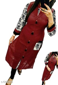 women's red and black long sleeve dress 401107, 401107