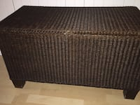 "Espresso BROWN ""Origineel Loom Furniture BV"" Storage Ottoman Blanket box Toy chest trunk LLOYD LOOM Ottawa, K1J"