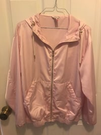 Pink Forever 21 zip-up jacket sz Small Navarre, 32566