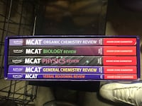 MCAT Complete 5 Book Subject  Review Toronto