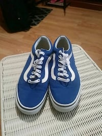 pair of blue Vans low-top sneakers Clearwater, 33763