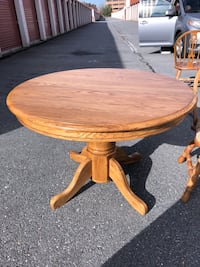 Oak Dining Table & Chairs Laurel, 20724