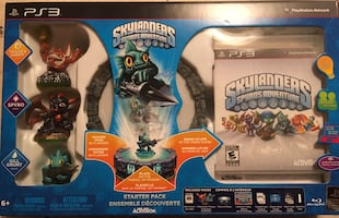 Skylanders PS3 Game and console, along with Skylanders Giants Game