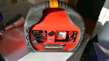 Power pack jump starter generator