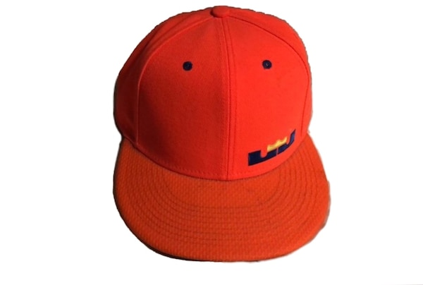 Used Nike True Lebron James 12 Orange   camouflage SnapBack cap for sale in  New York 82d1602353a