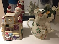 LENOX Christmas Musical Cookie jar, and tea pot Laval, H7X