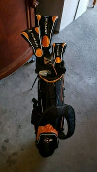 Dunlop full set right handed clubs and bag Toronto, M3H