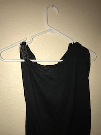black sleeveless top Imperial, 92251