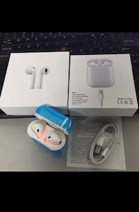 New Airpods twinset with charging dock not an Apple product but comparable features good sound  Toronto, M9L 2H8