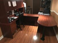 Desk - great addition to home or office! Measures 6'x7' Vaughan, L4H 0C5