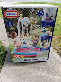 NEW in box Little Tikes Drop Zone ball pool pit