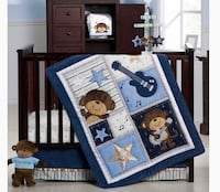Carters monkey bedding crib Mississauga, L5N 5H4