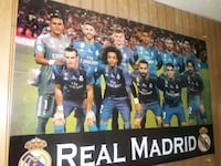 Real Madrid Team Photo Poster 40 km