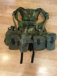 Hikers, preppers, campers, ZORTs: US Army LBV-88/ALICE Y suspender combo - 2 rigs in 1! Kearny, 07032