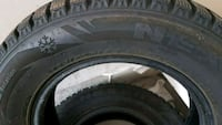 black auto tire with wheel Guelph, N1C 1G3