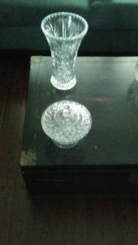 Crystal Vase and bowl with dish Innisfil, L9S 1M6
