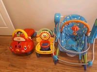 baby's three assorted color activity walkers Markham, L6B 0R1