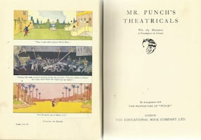 vintage 1930s Mr. Punch's Theatricals - from the New Punch Library, vo