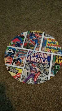 Captain America Clock. Ocala, 34471