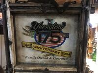 Yuengling 175th Anniversary Wood/Metal Numbered Sign Wall Display  Wellsville, 17365