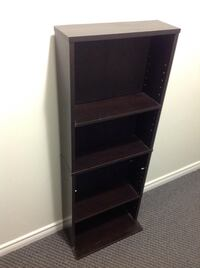 Way fair Book shelf height 45 inches and W 17.5 inches depth is 6 inches Surrey, V3R 5V7
