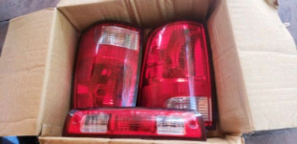 Dodge ram taillights and air filter